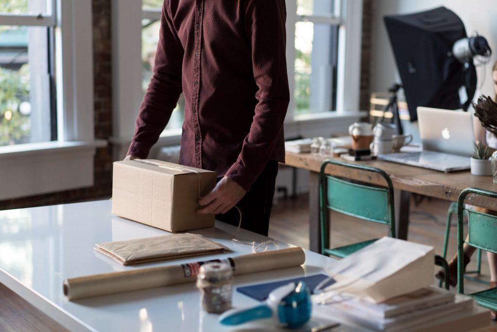 Avondbezorging levering avond - delivery/doos